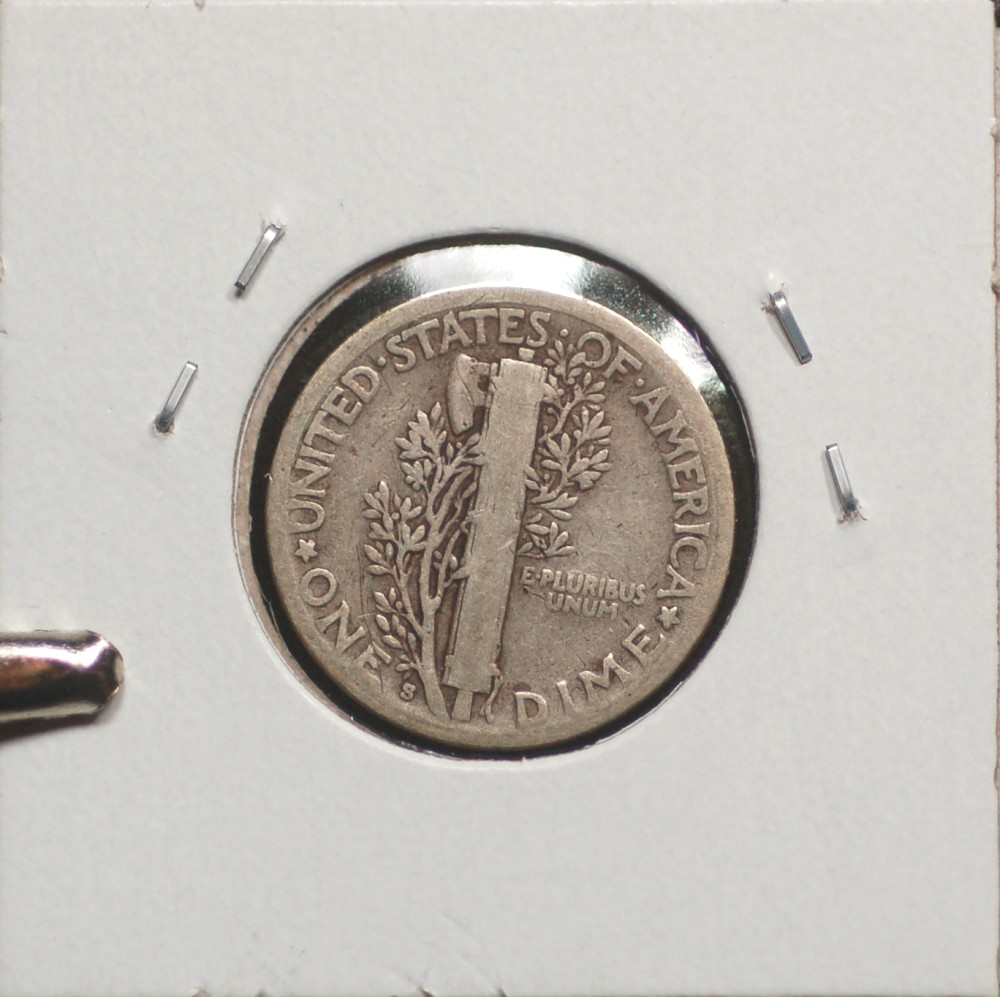 1928 S Mercury Dime VG8 for sale.