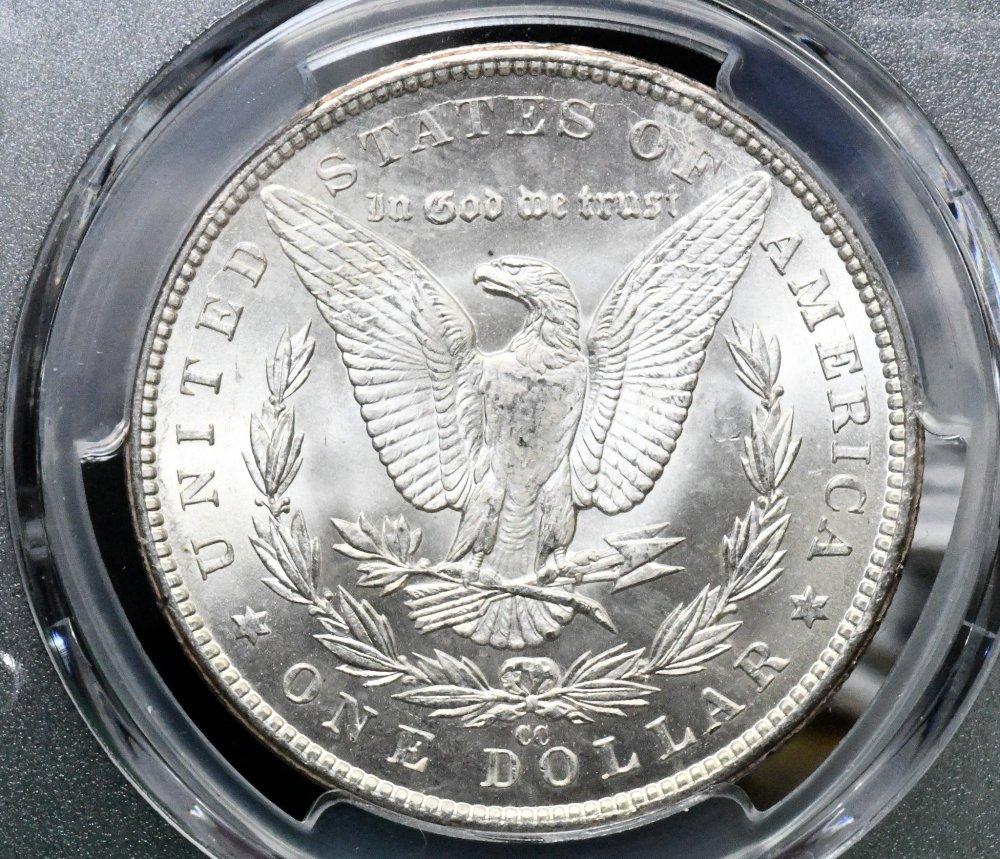1883 CC Morgan Dollar PCGS MS-65 for sale.