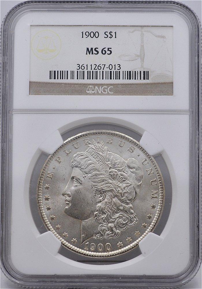 1900 Morgan Dollar NGC for sale.
