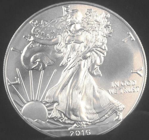 2016 Silver Eagle for sale.