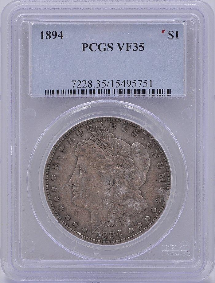 1894 Morgan Dollar PCGS for sale.
