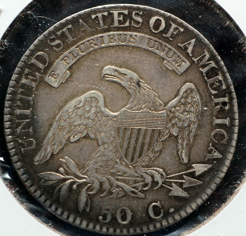 1822 Capped Bust Half Dollar O-112 XF40 for sale.