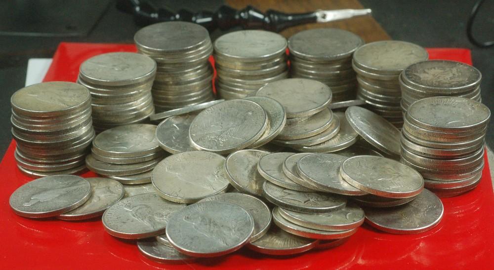 1922-1934 Peace Dollar for sale.