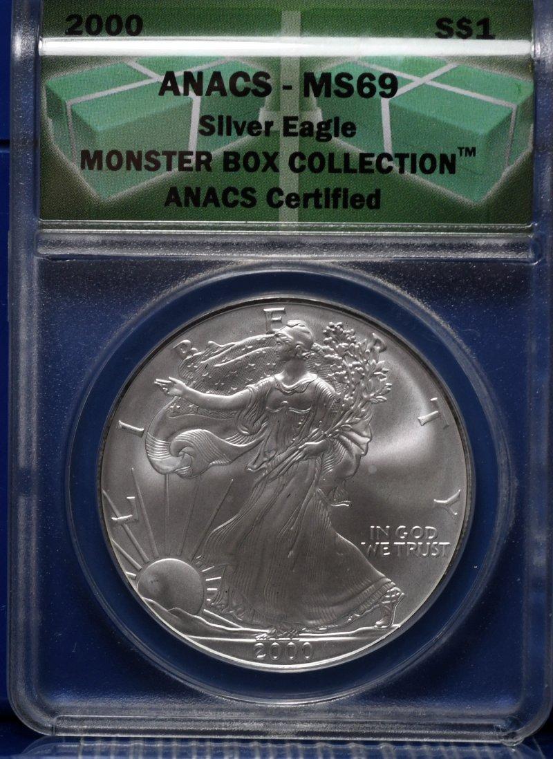 2000 Silver Eagle ANACS for sale.