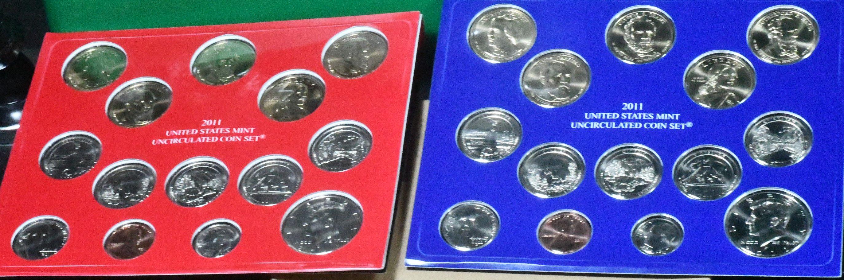 2011 P & D Mint Set for sale.