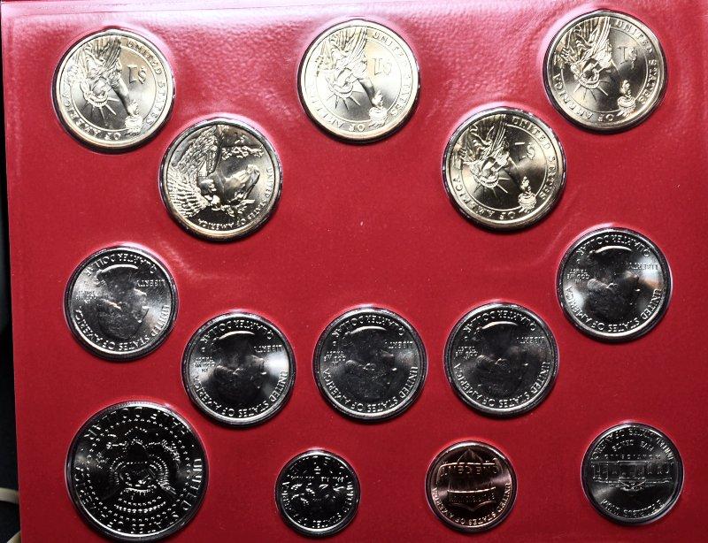 2012 P & D Mint Set Gem BU for sale.
