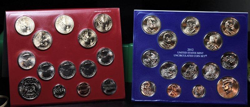 2012 P & D Mint Set for sale.