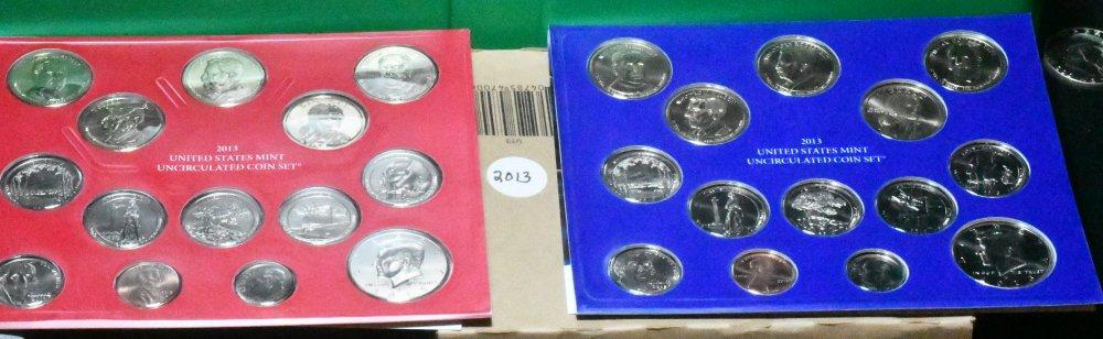 2013 P & D Mint Set for sale.