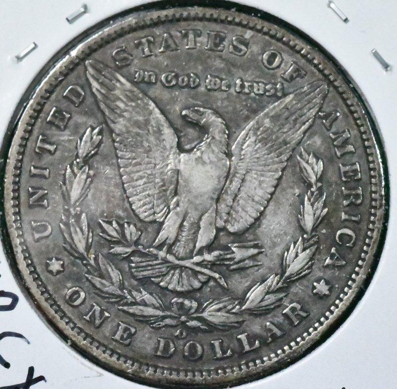 1895 O Morgan Dollar VF-30 for sale.