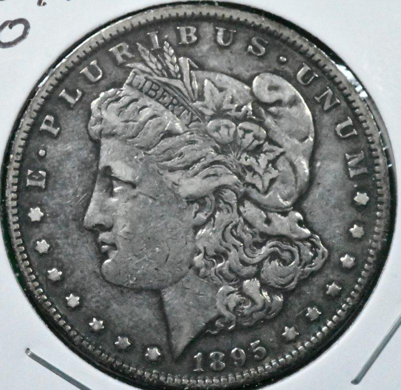 1895 O Morgan Dollar for sale.