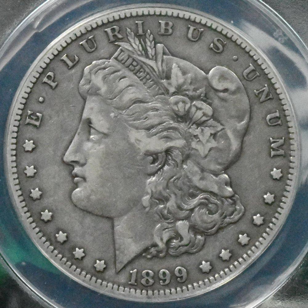 1899 Morgan Dollar ANACS for sale.