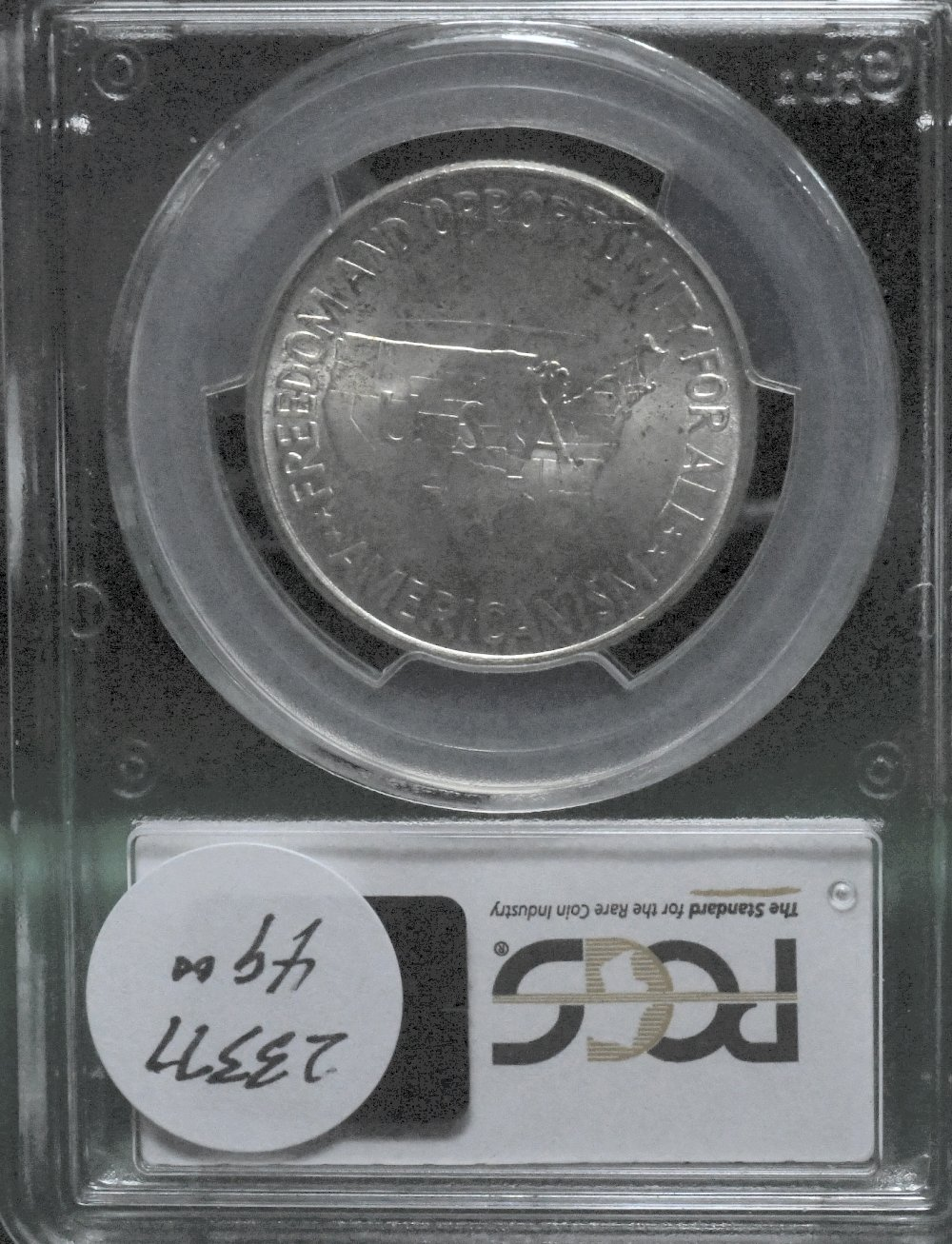 1952 Wash-Car 50c PCGS MS65 for sale.