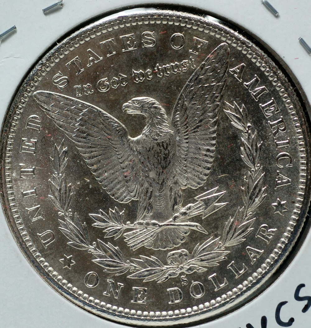 1880 S Morgan Dollar MS-63 for sale.