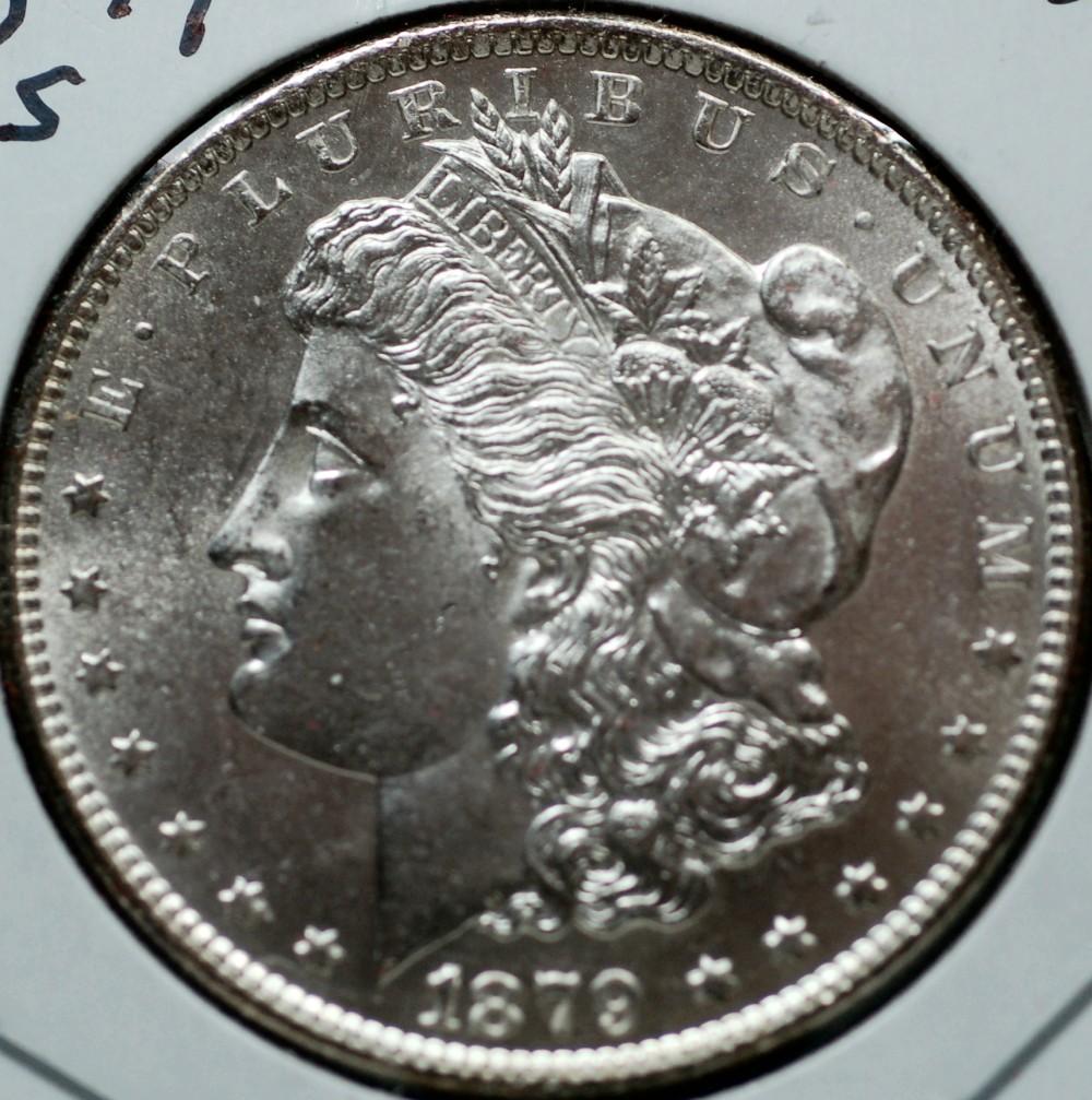1879 S Morgan Dollar for sale.