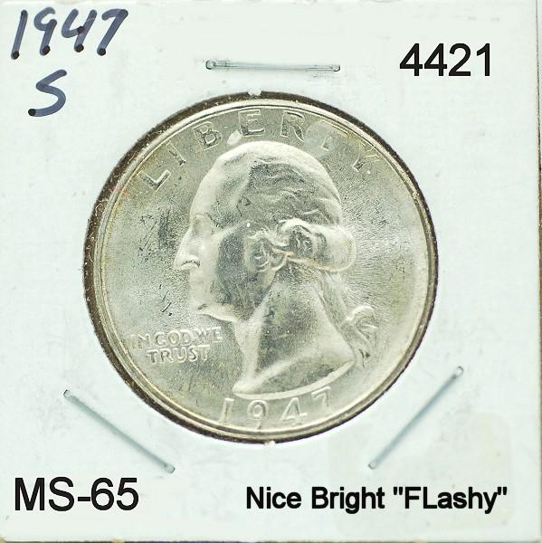1947 S Washington Quarter for sale.