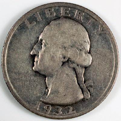 1932 S Washington Quarter for sale.