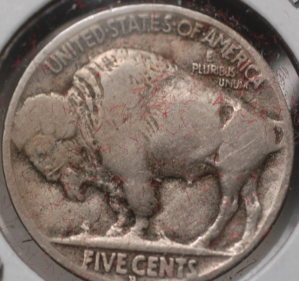 1919 D Buffalo Nickel Type 2 for sale.