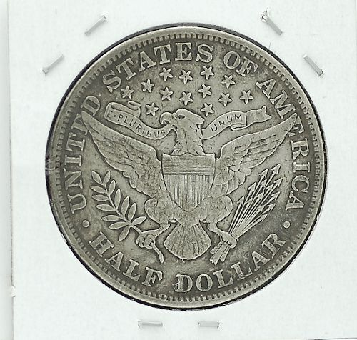 1904 Barber Half Dollar XF-40 for sale.