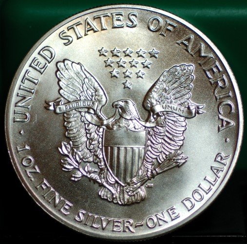 1986 Silver Eagle Gem BU for sale.