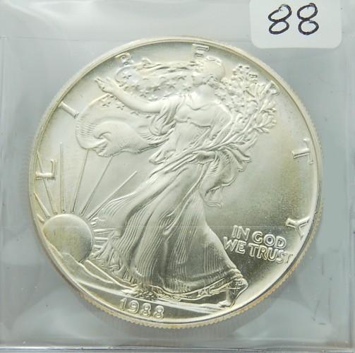 1988 Silver Eagle for sale.