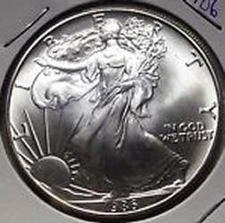 1996 Silver Eagle for sale.