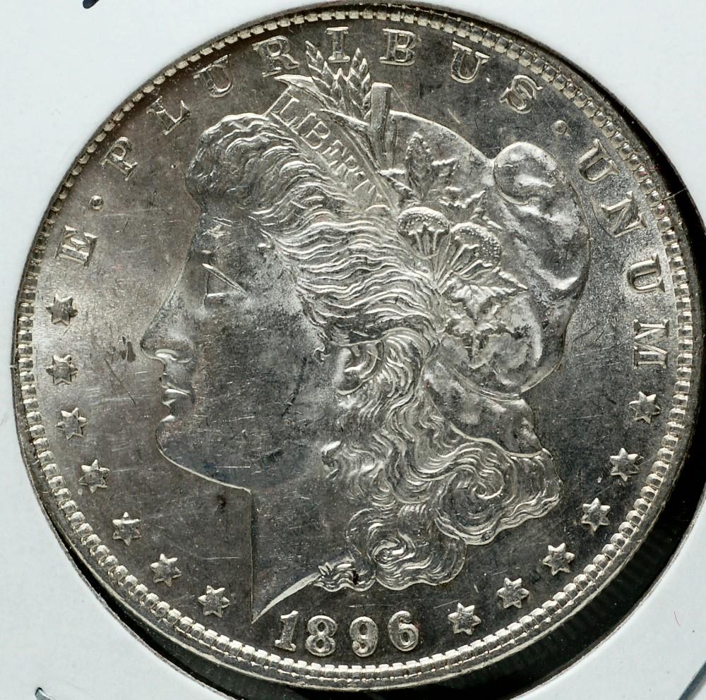 1896 Morgan Dollar for sale.