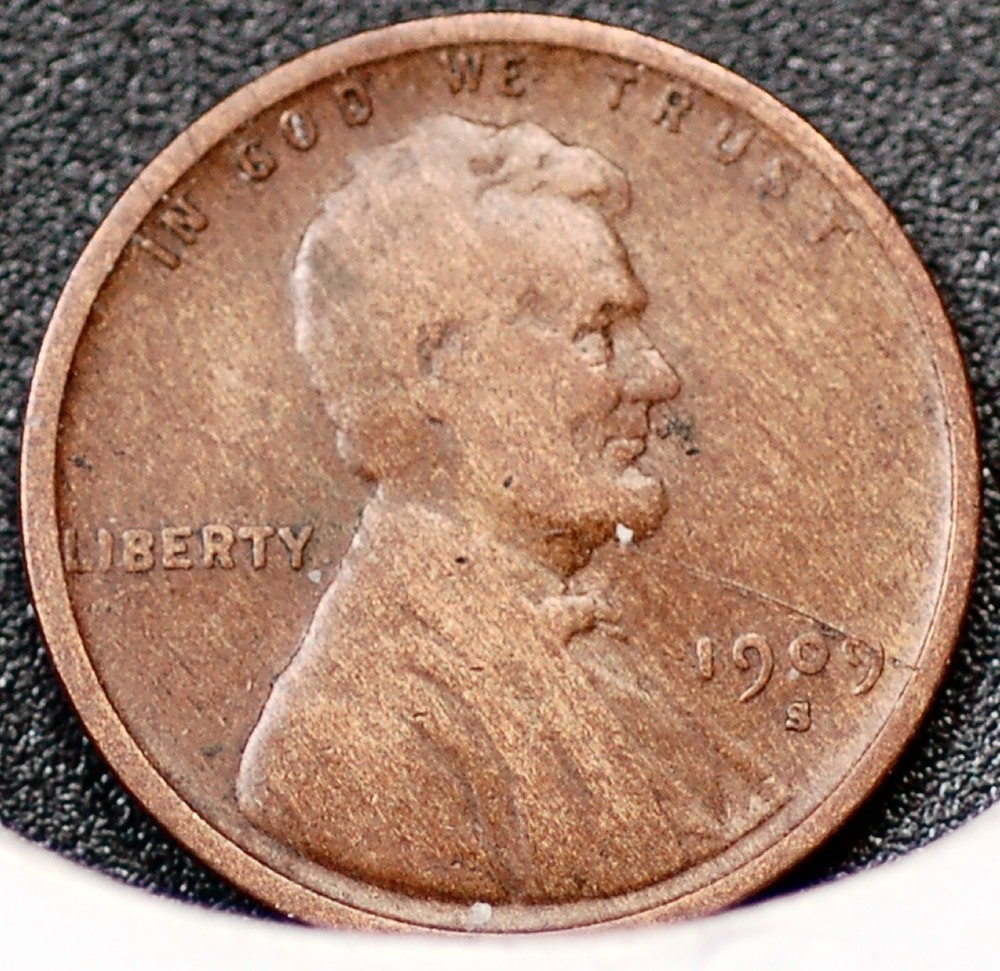 1909 S Lincoln Cent for sale.