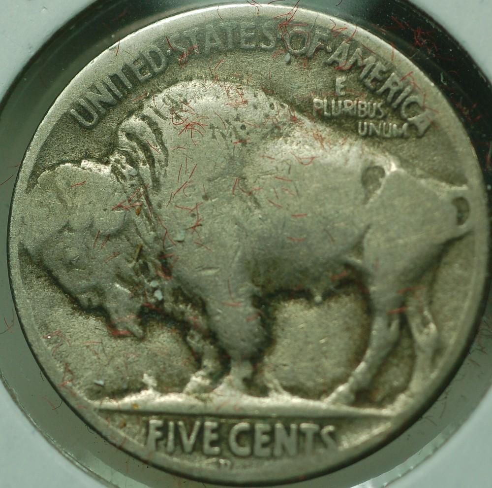 1917 D Buffalo Nickel Type 2 for sale.